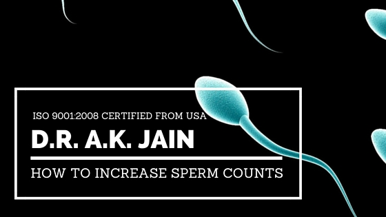 How to increase sperm counts